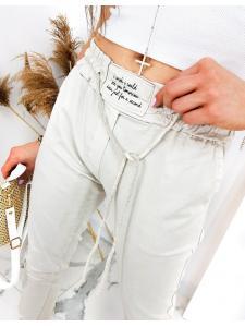 Béžové dámske nohavice Davids