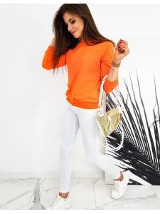 Dámska mikina Cardio pomarančová