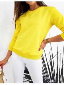 Dámska mikina Cardio žltá