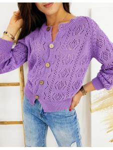 Liliový dámsky sveter Natalie
