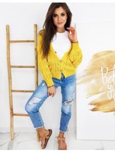 Žltý dámsky sveter Natalie