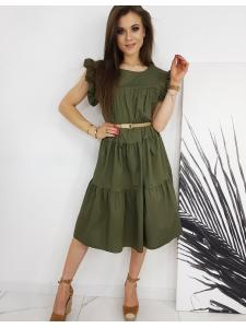Khaki šaty Marinette