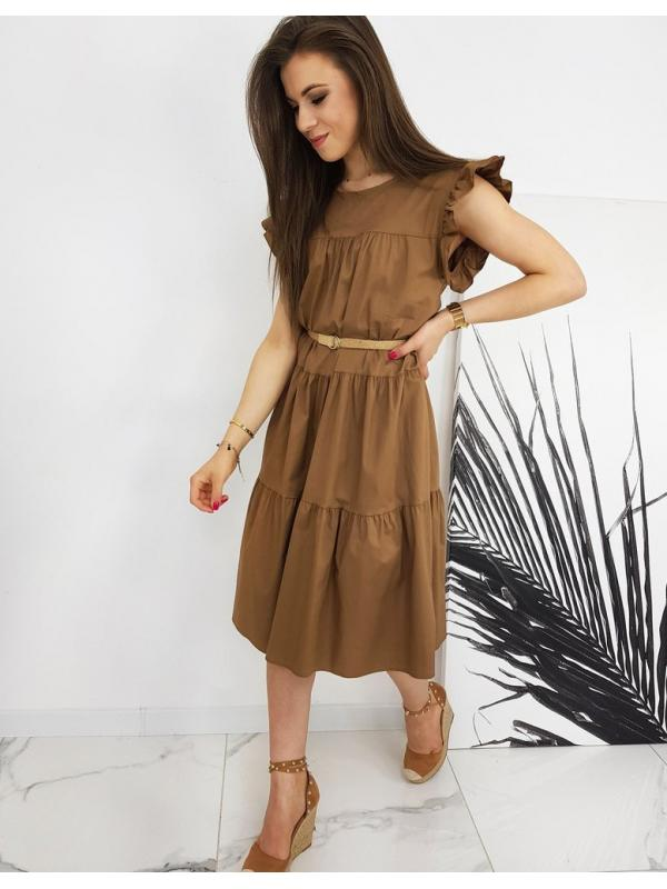 Hnedé šaty Marinette