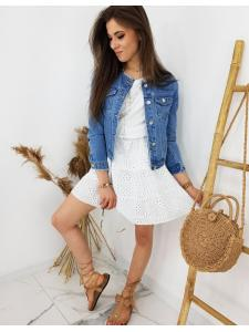 Modré dámske džínsy Chanelles