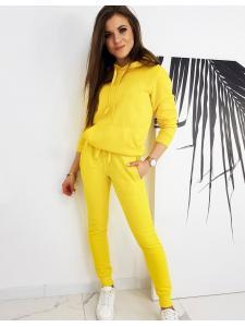 Žltý dámsky komplet Dresslily
