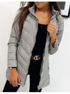 Dámska šedá bunda
