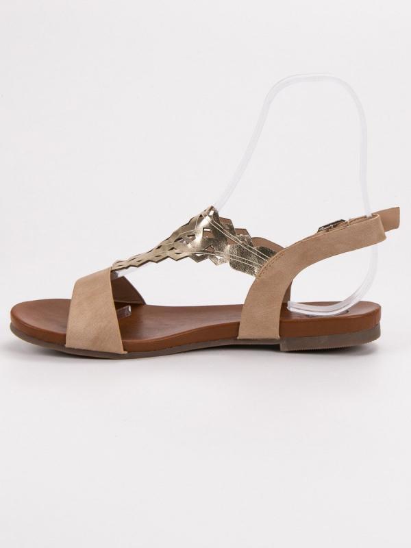 Štýlové ploché sandále