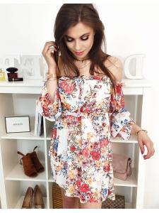Biele hispánske šaty Amore