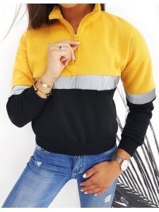 Žltá dámska mikina Dueto II