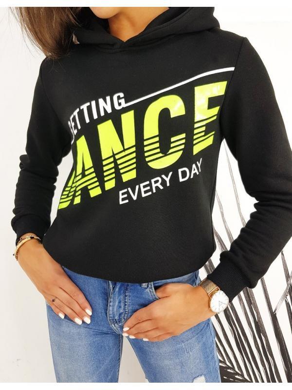 Dámska čierna mikina Dance