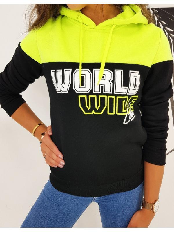 Dámska mikina World čierna
