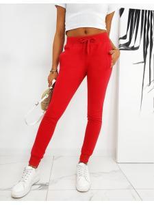 Dámske nohavice Fits červené