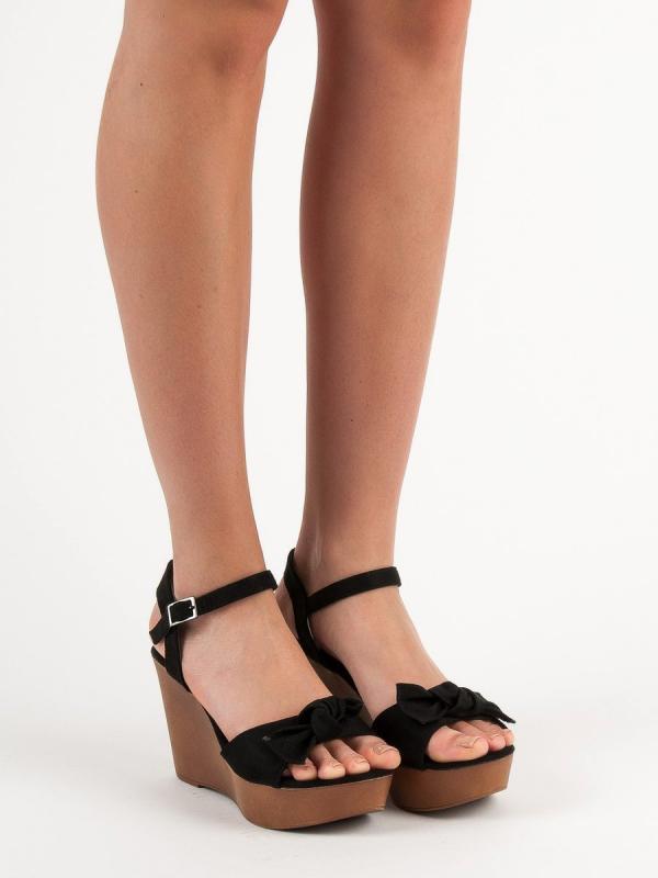 Sandále s mašľou