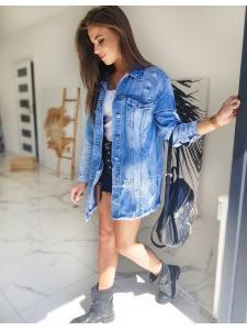 Dámska džínsová katana Filessia modrá