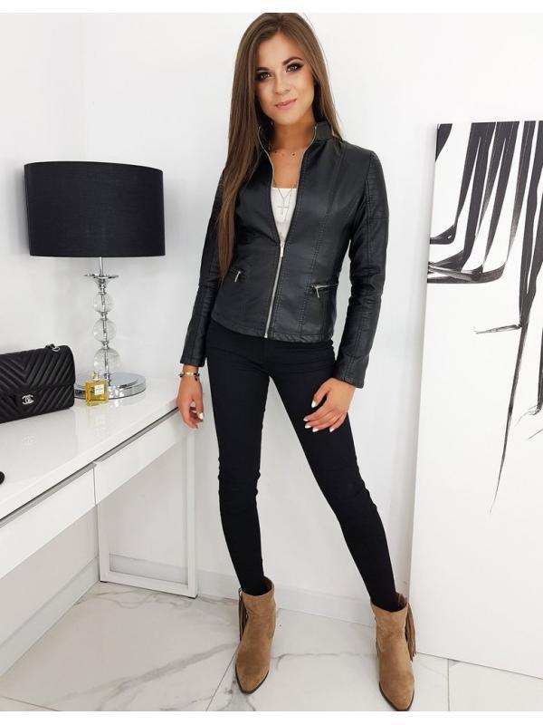 Čierna dámska bunda Parise
