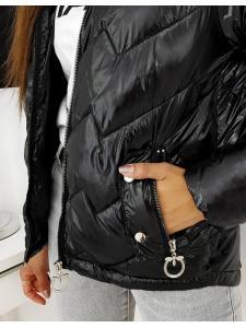 Dámska prešívaná bunda Flence čierna