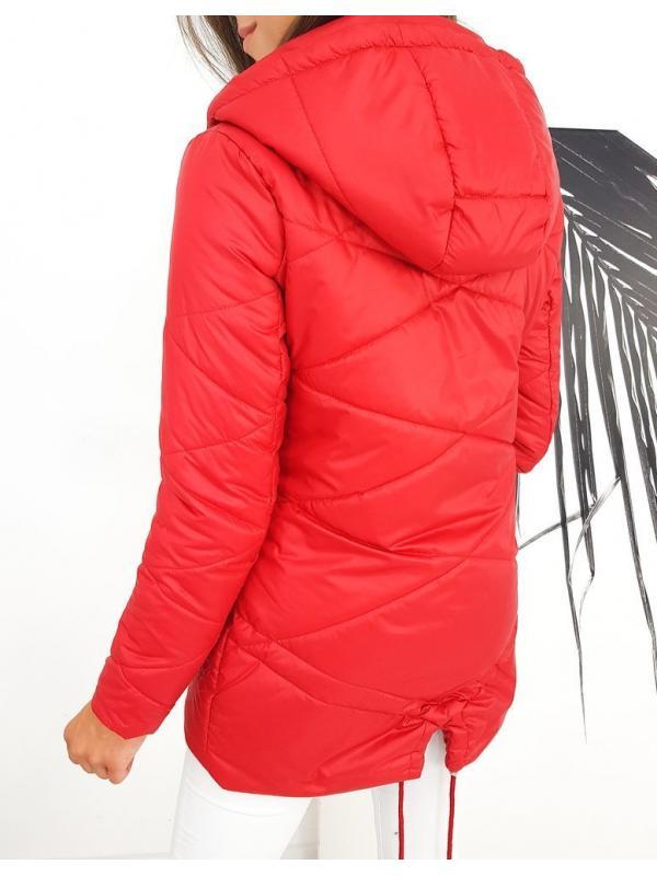 Dámska prešívaná bunda Margaret červená