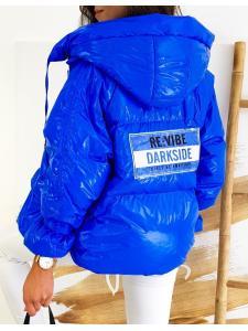 Dámska bunda This Way Up modrá