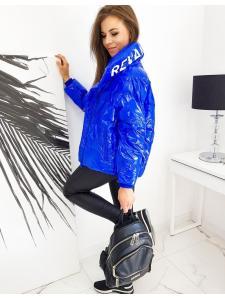Dámska bunda Revan modrá