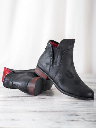 Dámske členkové topánky Trapery BL81W