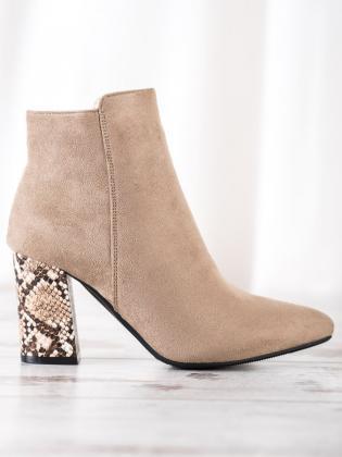 Velúrové sandále s prackou 1136-6G