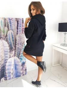 Čierne šaty Carmeno