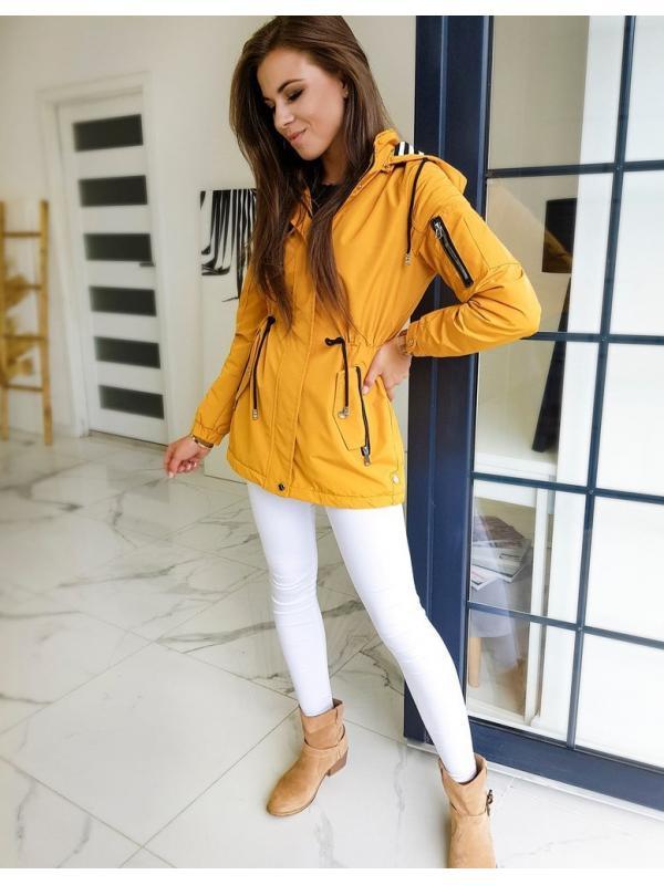 Dámska žltá párka bunda Stendi