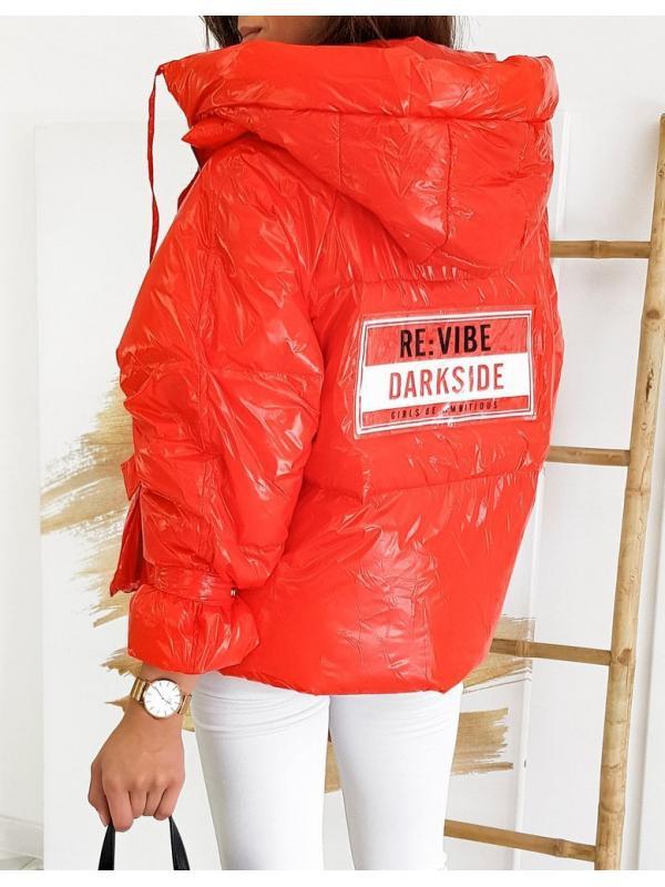 Červená dámska bunda This Way Up