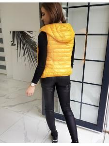 Žltá dámska vesta Modivos