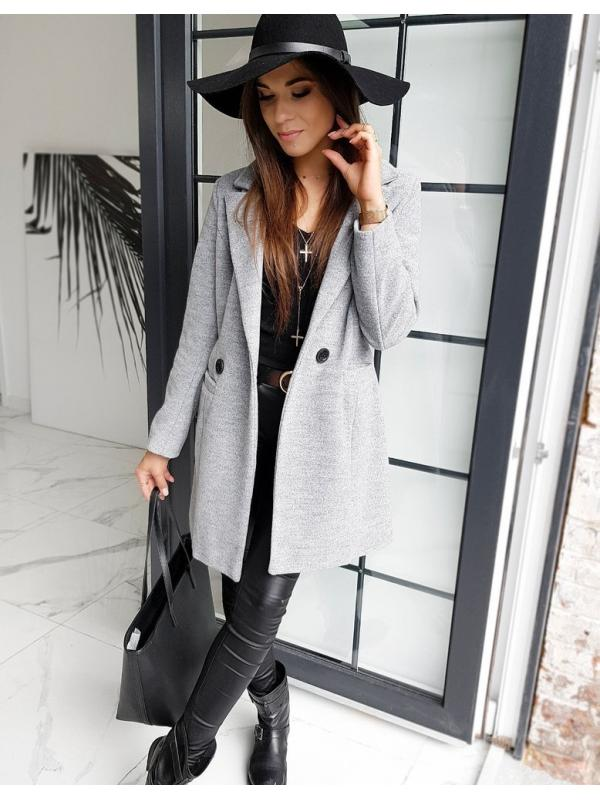 Dámsky kabát Sanlorini šedý