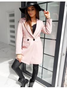 Dámsky kabát Sanlorini ružový