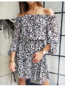 Hispánske biele šaty Eline