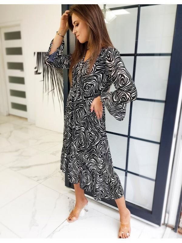 Ćierne šaty Melivo