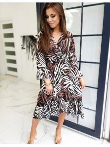 Hnedé šaty Filo
