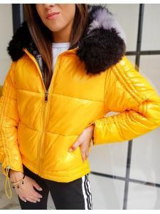 Žltá dámska prešívaná bunda Sephia