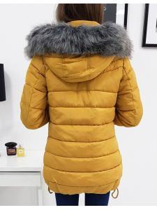 Zimná prešívaná dámska bunda Colin olivová