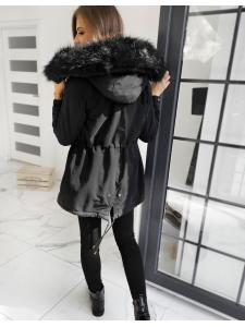 Čierna dámska párka bunda Sevilla