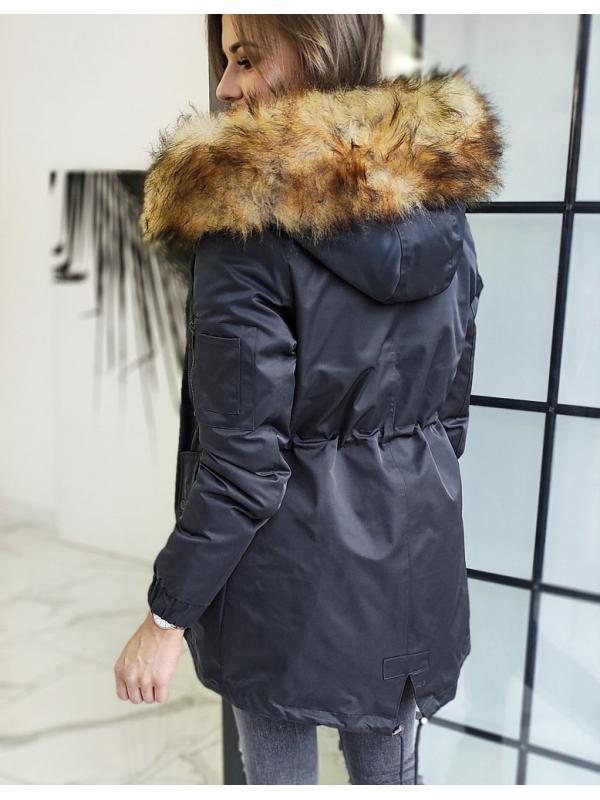 Dámska párka bunda Vella grafitová 3v1