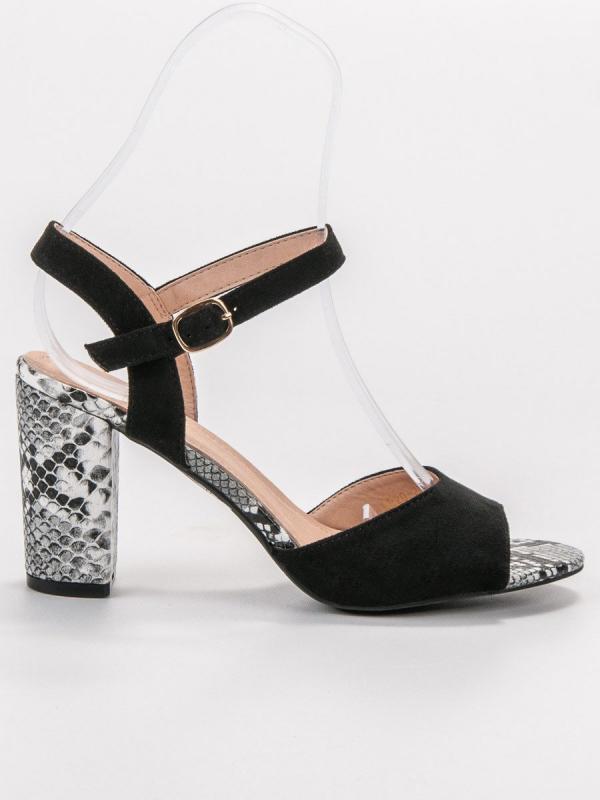 Sandále s haďou potlačou