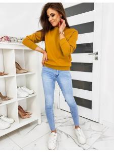 Karamelová dámska mikina Fashion II
