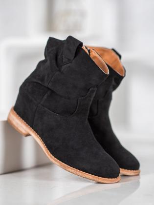 Šnurovacie topánky na kline J0102B