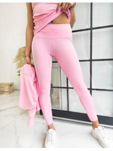 Ružový dámsky teplákový komplet Vella