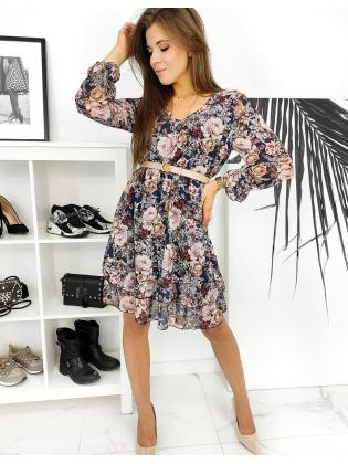 Tmavomodré šaty Filona