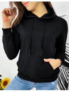 Čierna dámska mikina Modivos