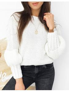 Dámsky ecru sveter Amaya