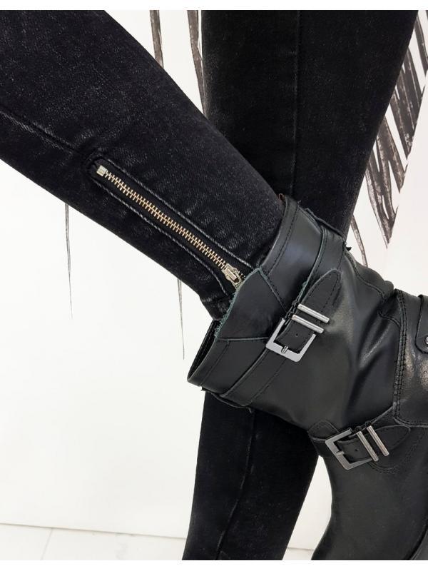 Dámske džínsy Skinny Fit Lopez čierne