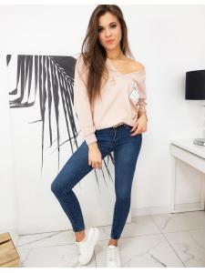 Dámska ružová mikina Mellissa