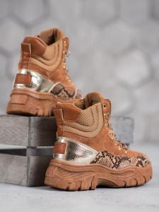 Dámske topánky na šnurovanie Vices