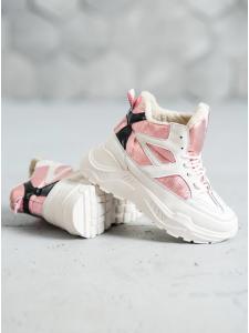 Módna obuv s kozušinou R101KH