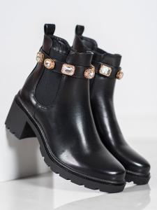 Topánky s kryštalmi